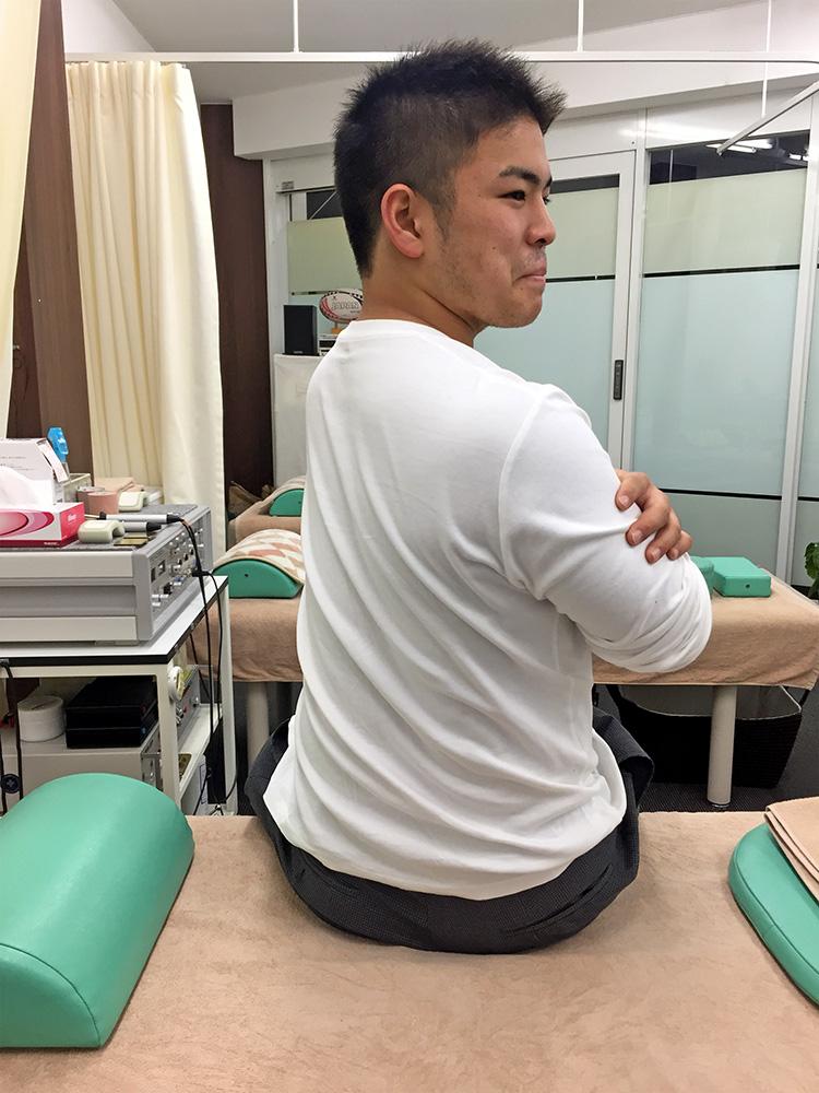 アキレス腱炎 体幹回旋1
