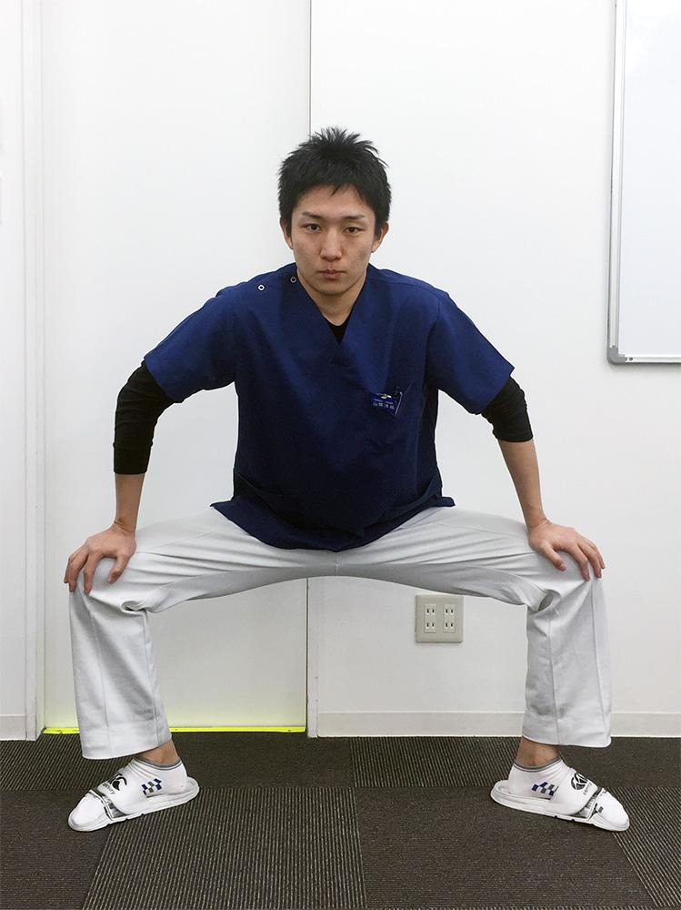 アキレス腱炎 膝と骨盤のズレの予防・改善法